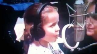 christa recording christmas carol.MOV