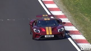 The Best Way to Dry My Ford GT - Nürburgring Hot Lap!