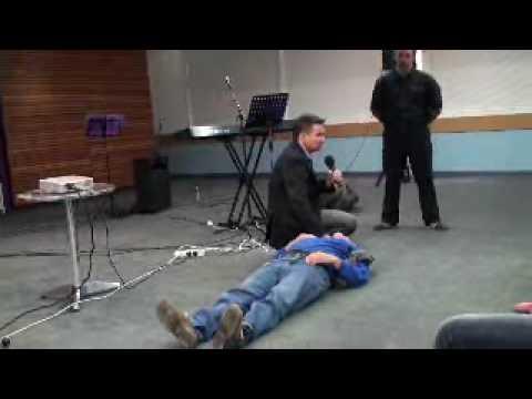 Damaged collar bone, shoulder and back healed - John Mellor