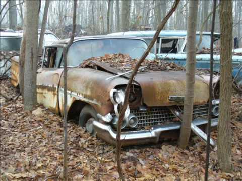Old cars in junk yards #2