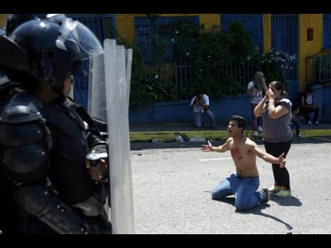 Venezuelan 14 year old shot dead during anti government protest