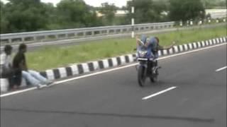 nirmal Harish bike stunts