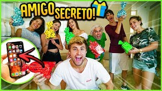 AMIGO SECRETO DA CASA!! ( DEI IPHONE XS MAX? ) [ REZENDE EVIL ]