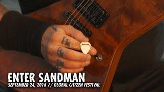 Metallica Enter Sandman Global Citizen Festival New York Ny September 24 2016