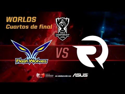 Origen vs FW Mapa 1 - Worlds Cuartos de Final - Mundiales League of Legends 2015 en Español