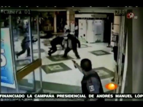 Video ☠ asesinato de delincuentes y custodio - Asalto Camioneta de valores