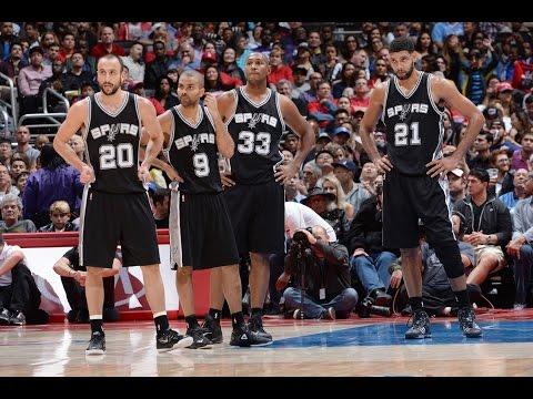 San Antonio Spurs Top 10 Plays of the 2014-15 Season