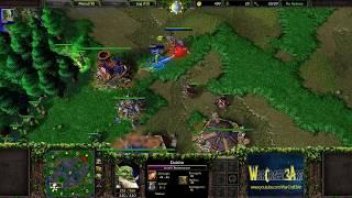 Moon(NE) vs OrcWorker(ORC) - WarCraft 3 Frozen Throne - RN3499