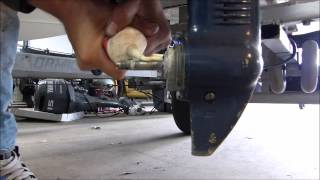 Breekpen vervangen / shearpin change Yamaha 4Hp 2-Stroke