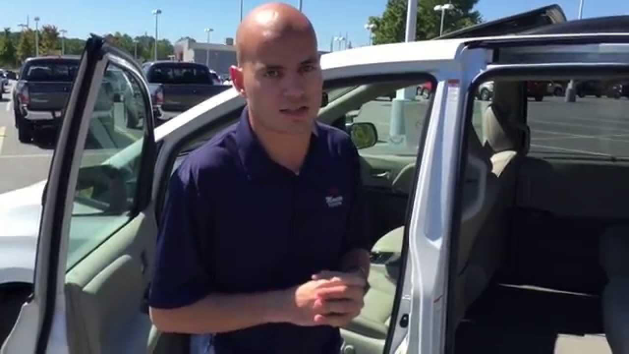 New 2015 Sienna XLE 8 Passenger at Marietta Toyota - YouTube