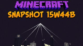 Minecraft 1.9 Snapshot 15w44b Craftable End Crystal & New Luck Potion