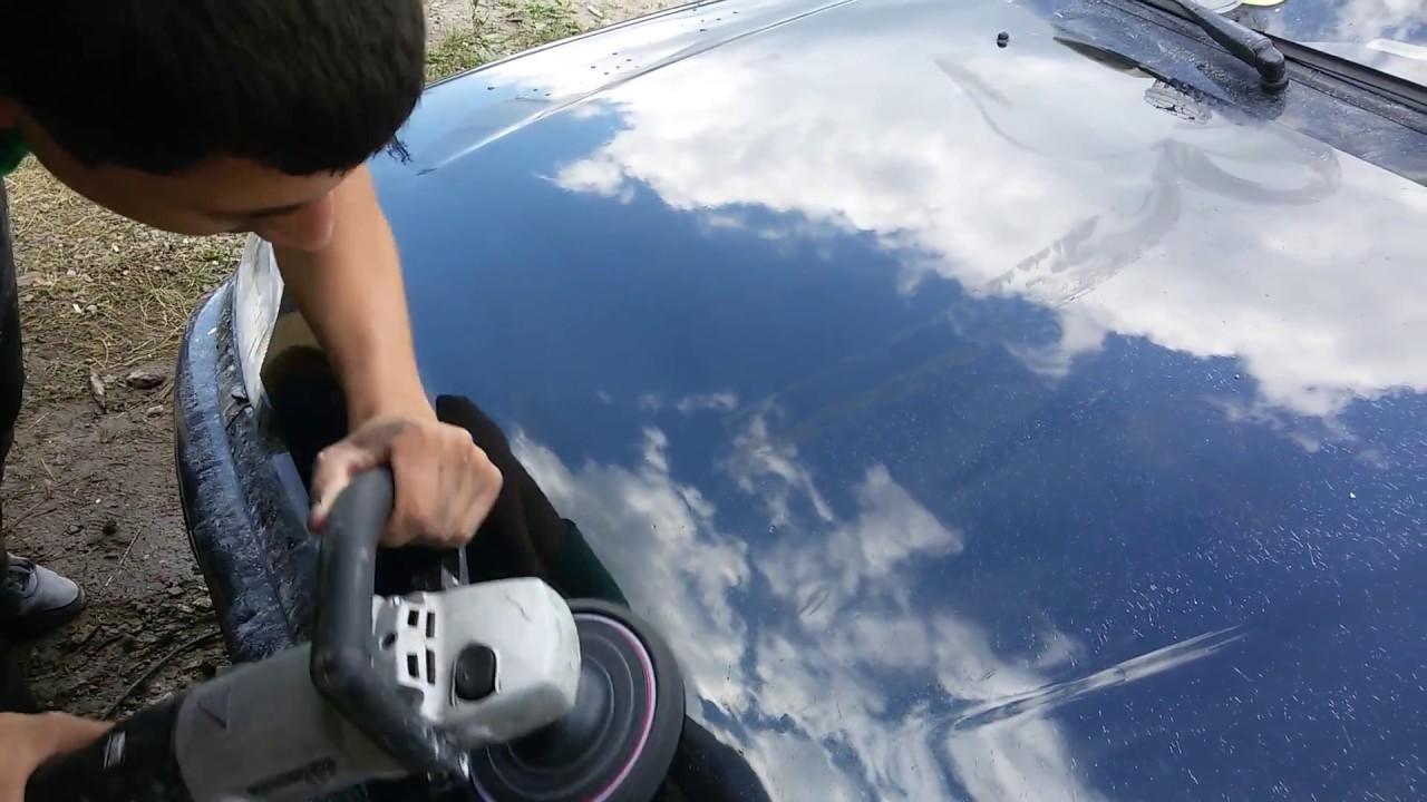 Полировка авто своими руками ютуб 33