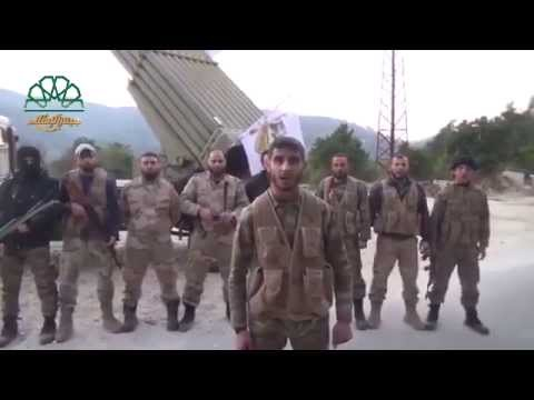Latakia: Al-Islam Army fires Grad missiles targeting government centers 25 1 2015