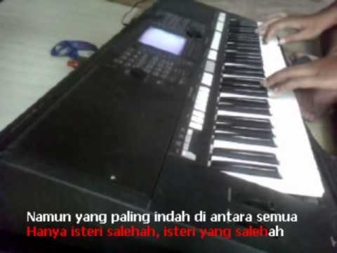 Salehah Rhoma Irama Karaoke Yamaha Psr S750 video