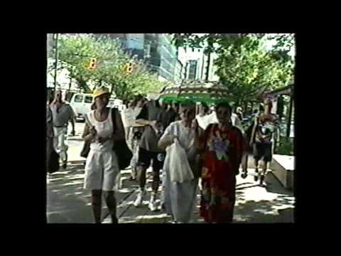 DEMONSTRACIJE - SRPSKA AGRESIJA i GENOCID u BOSNI '92-95 - Vancouver 1995