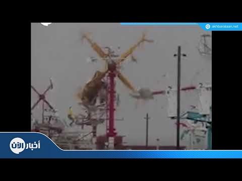 """شاهد الإعصار """"فلورنس"""" من محطة الفضاء الدولية"""