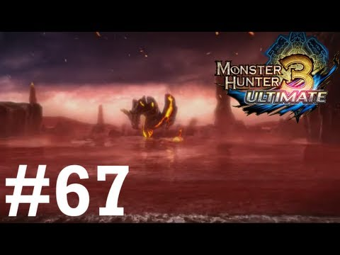 Monster Hunter 3 Ultimate - Online Quests -- Part 67: The Black Flame of Calamity - Dire Miralis