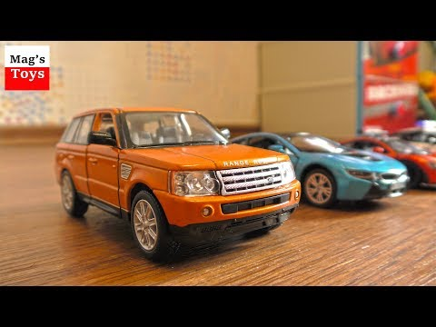 New Toy Cars for Kids - police cars & others