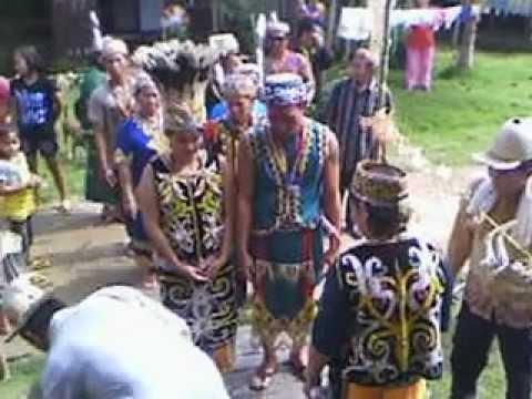 acara nikah dayak kenyah vs bahau