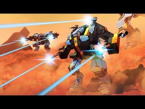 Robocraft | Боевой матч на LEGO-роботах