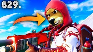 *NEW* PET HUMAN FACES?! - Fortnite Funny WTF Fails and Daily Best Moments Ep. 829