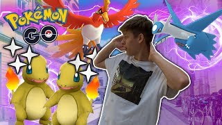 SHINY GLUMANDA ✨ Ho Oh und Latios am Community Day • Pokemon GO deutsch