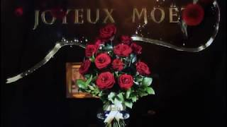 Moet & Chandon hologram holographic display by amethys technologies