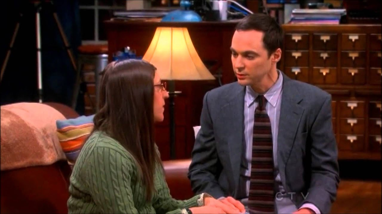 the big bang theory   amy and sheldon s valentine s day