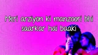 Ishq Tu Hi Hai Mera- MEIEJ- Lyrics