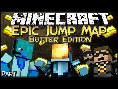 Minecraft: Epic Jump Map: Butter Edition - Part 1 - Butter.