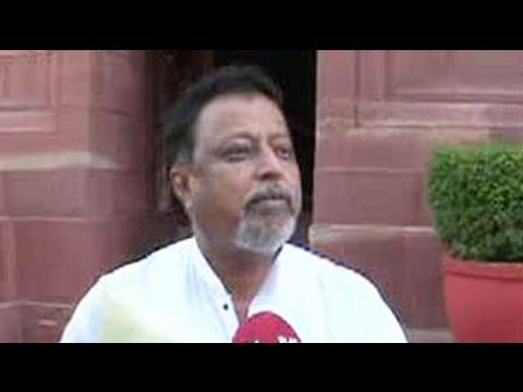 The party will decide everything: Mukul Roy to NDTV