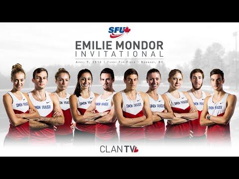 SFU Clan Track & Field: Emilie Mondor Invitational 2016