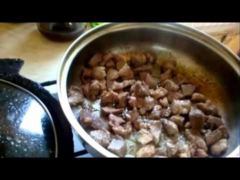 Как жарить мясо - видео