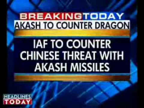 Akash to secure Indian skies -   6 missile squadrons for NE