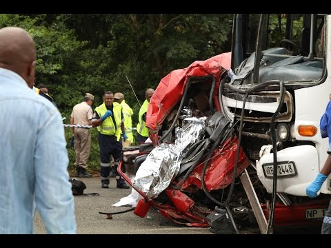Fatal taxi, bus crash caught on dashcam