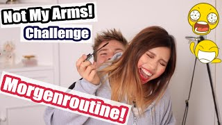 MORGENROUTINE - Not My Arms! - Challenge mit Joey's Jungle | Kisu