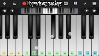 harry potter hedwigs theme || full theme on mobile piano tutorial by Romy kapoor