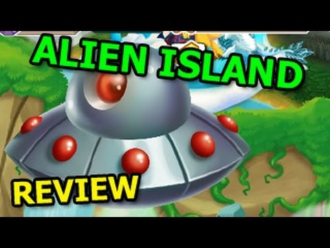 Dragon City ALIEN ISLAND Event Review Alien Dragon and Mars Dragon Prize Day 1
