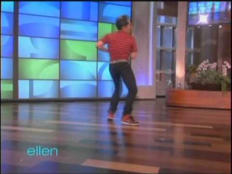 Ellen - D-Trix announces his new job as third judge on America's Best Dance Crew then does a quick dance routine.