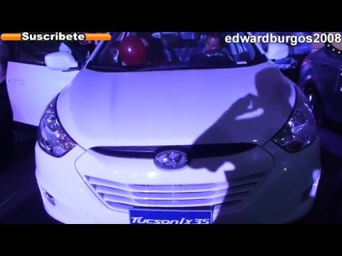 2013 hyundai tucson ix35 colombia video de carros auto show FULL HD
