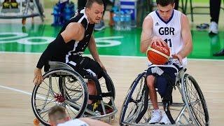 Wheelchair Basketball | Great Britain vs Germany | Men's preliminaries | Rio 2016 Paralympic Games
