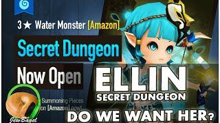 SUMMONERS WAR : Water Amazon Secret Dungeon - Do we want her?