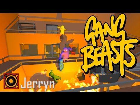 Gang Beasts [cz] - #1 - Teapack party