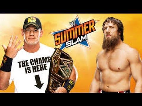 SummerSlam 2013: John Cena vs Daniel Bryan WWE Championship Full Match
