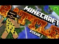 Youtube Thumbnail MINECRAFT BATTLE # 1 - Br4mm3n startet hart «» Let's Play Minecraft Battle Season 7 | HD