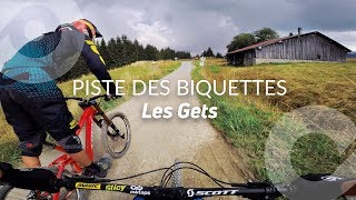 PISTE DES BIQUETTES, Les Gets bike park, France