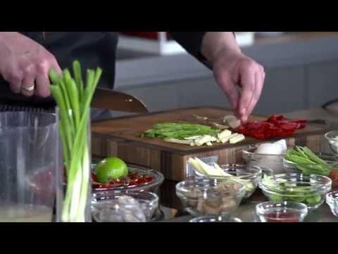 Рецепт супа Том Ям в воке BORK G600 от Дениса Никифорова