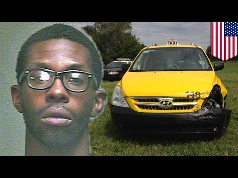 Oklahoma man steals a cab then offers wise words to 'kids out there'