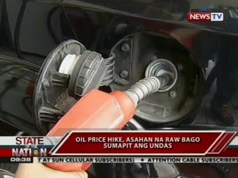 SONA: Oil price hike, asahan na raw bago sumapit ang undas