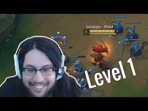 Imaqtpie Insane level 1 outplays | Yassuo vs Fly Galio | LoL Daily Moments Ep #113